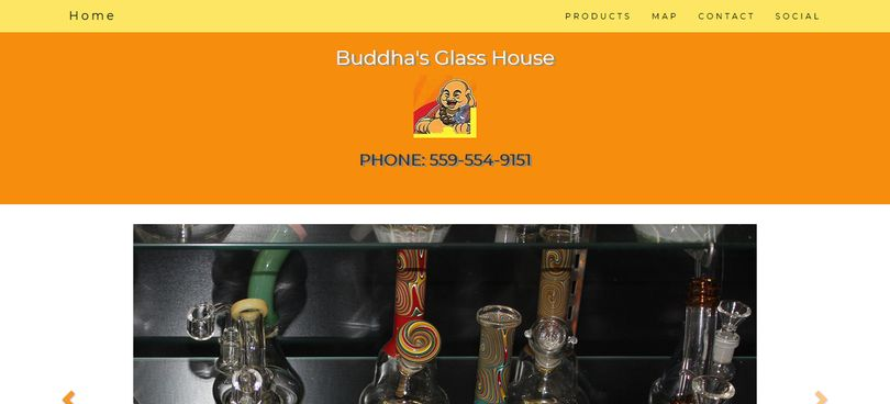 Buddha's Glass House